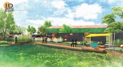 Projet d'aménagement de l'expo - ID Jardin